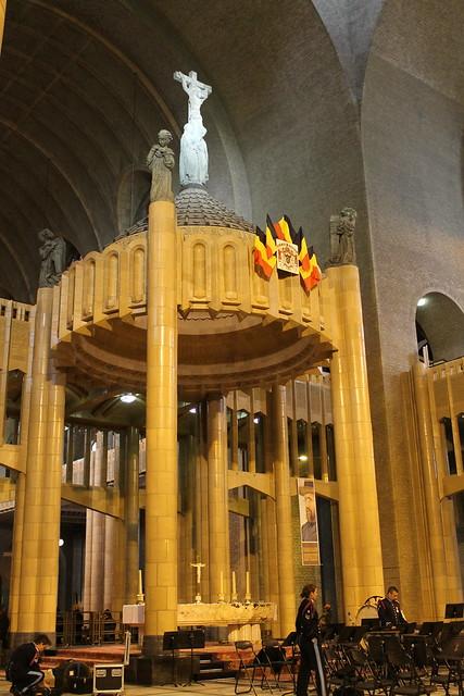 Autel, Basilique du Sacré-Cœur de Bruxelles