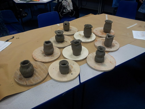 Students Pots by phatcontroller
