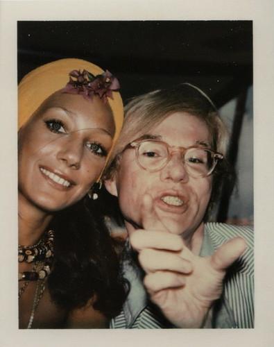 Andy Warhol polaroid.