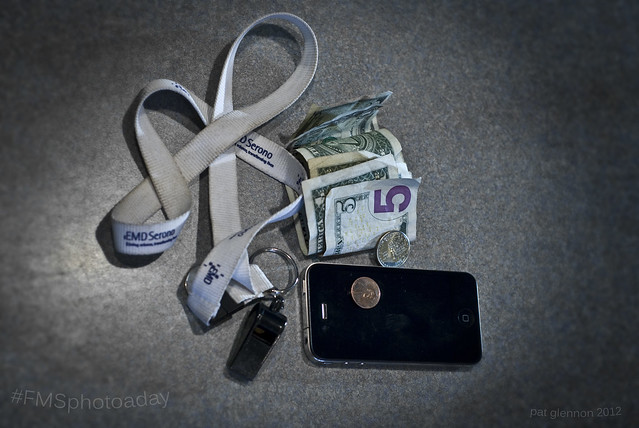 "#FMSphotoaday Nov 15, 2012 ""In My Bag (Pocket)"""