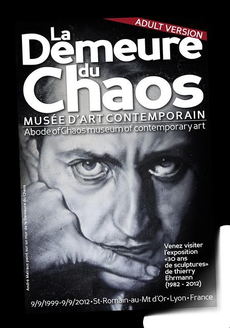 Couverture Catalogue Demeure du Chaos 2012