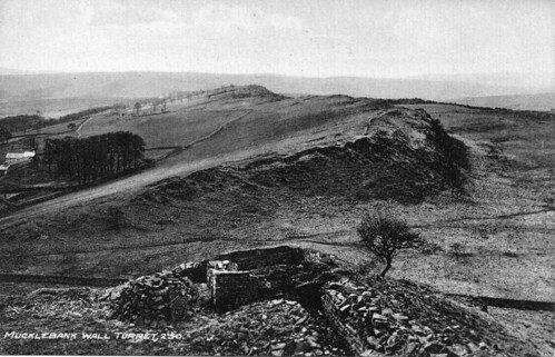 Turret 44b excavated and photographed by Gibson