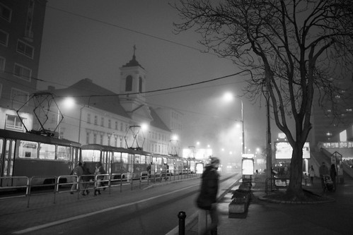 Like a Ghost in the Night (Bratislava, Slovakia) - Photo : Gilderic