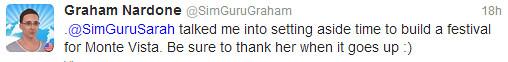 Graham Nardone (SimGuruGraham) In Twitter