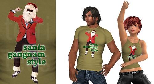 promo santa gangnam style L