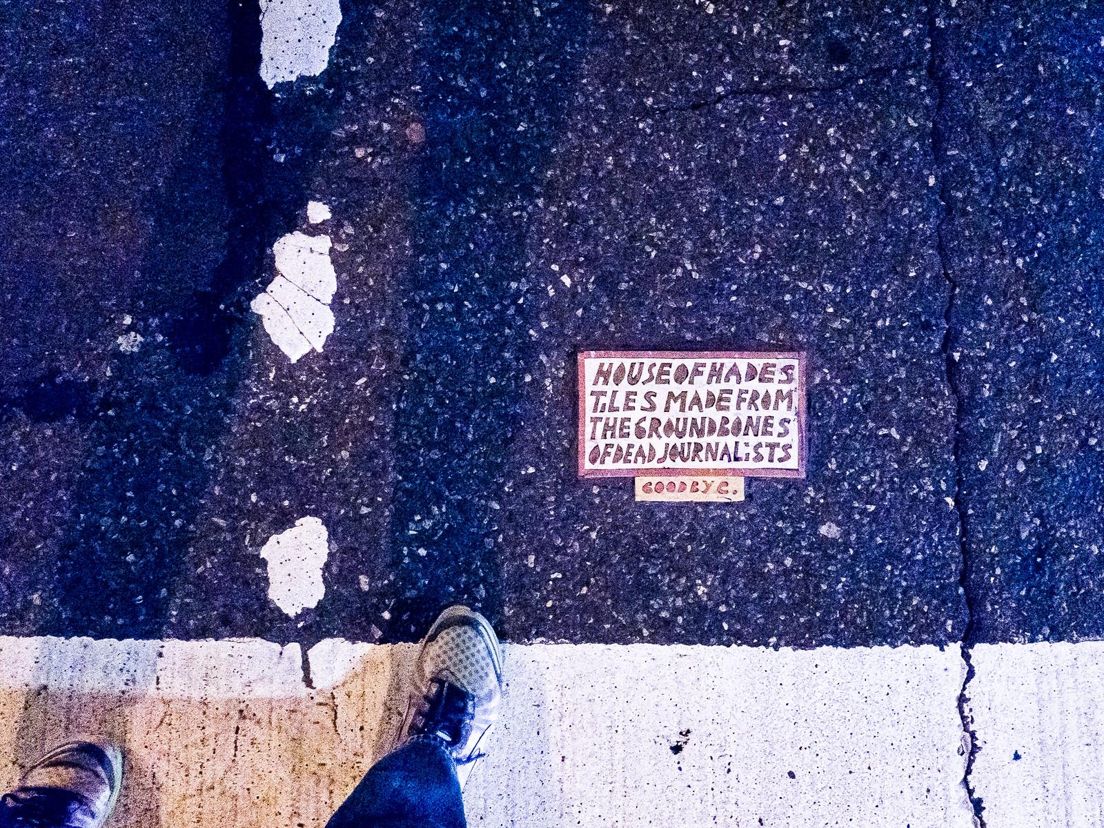 The ground bones of dead journalists... by wwward0