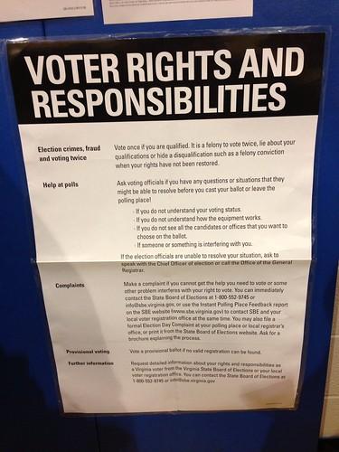 Väljarnas Rättigheter och Ansvar