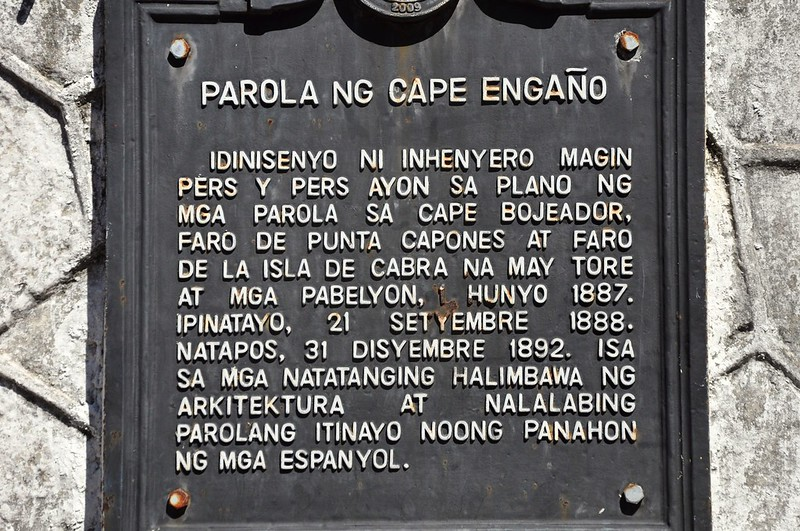 Cape Engano Lighthouse Marker