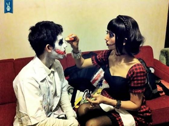 Mrs. Anita, make-up artist kita :)