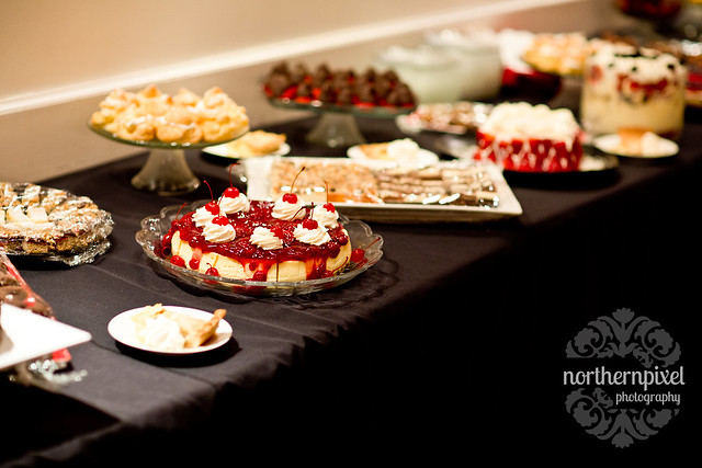 Reception Desert Table