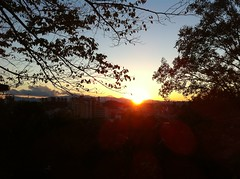 聖ヶ丘からの夕暮れ