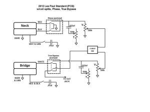 Les Paul Standard Wiring | MusikerBoard
