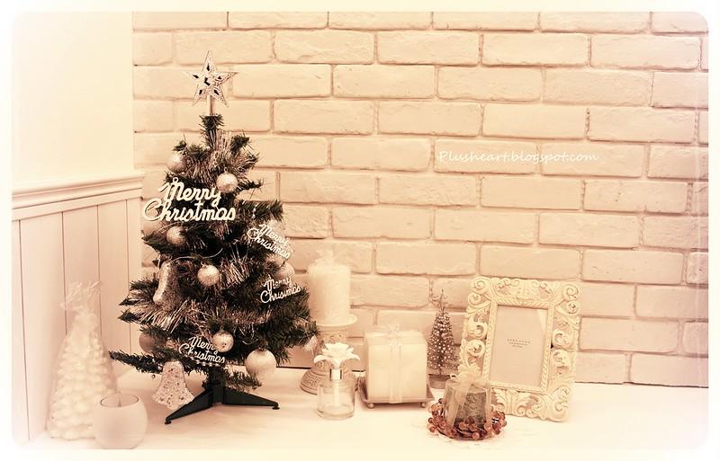 ▌Home ▌ 小小銀白聖誕樹