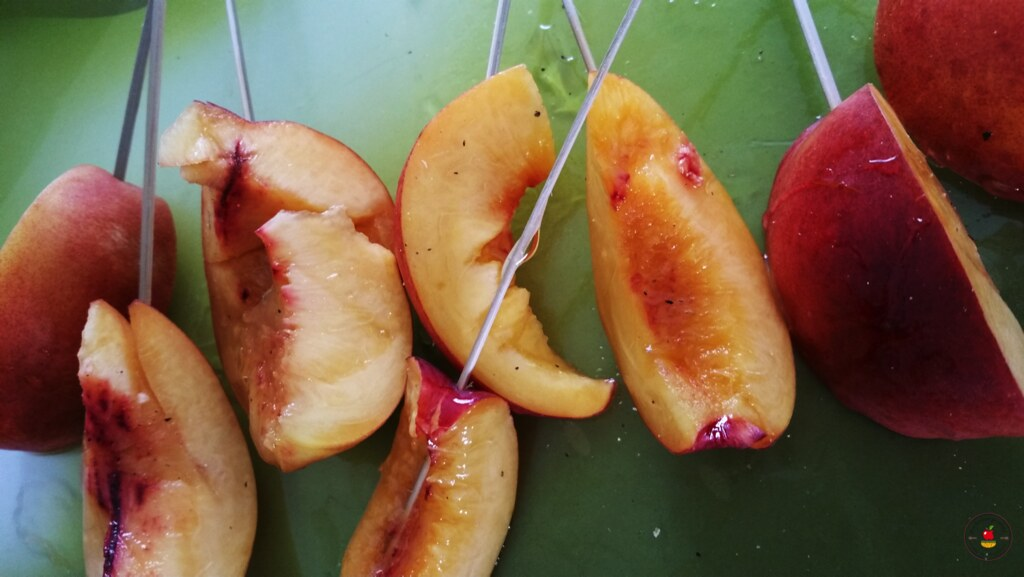 nectarines grillées