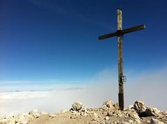 Gipfelkreuz Peitlerkofel