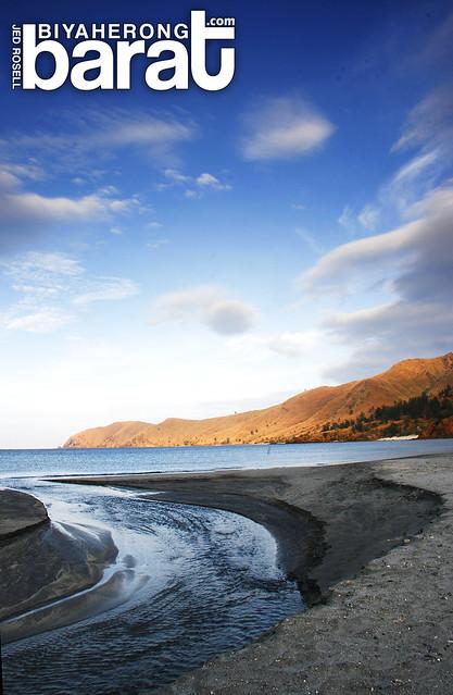rivermouth in nagsasa Cove zambales