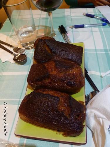 Baked Honey Cake