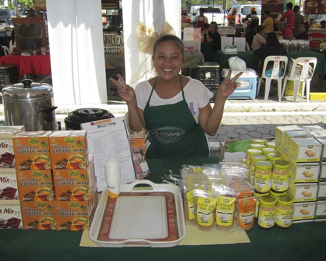 Healthy Ginger Brew teas & Herbal Coffees @ Morning Mercato