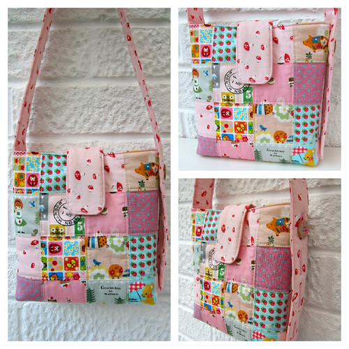 Patchwork bag Collage