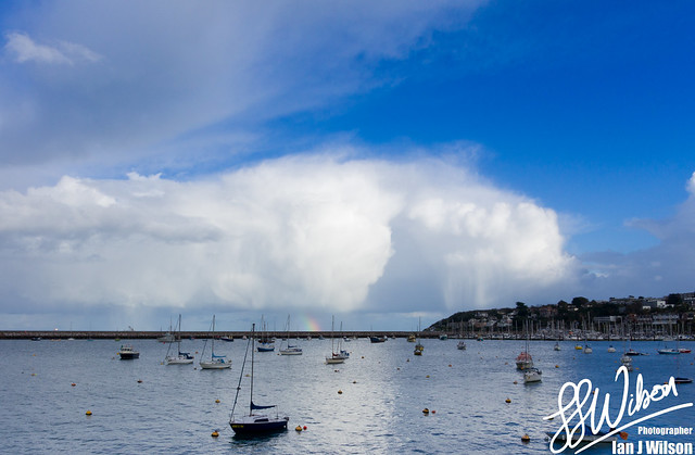 Brixham Sky – Daily Photo (28th November 2012)