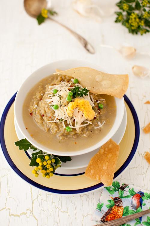 Leek Mushrooms Soup 2