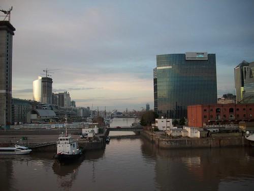 Entrando al puerto de Buenos Aires