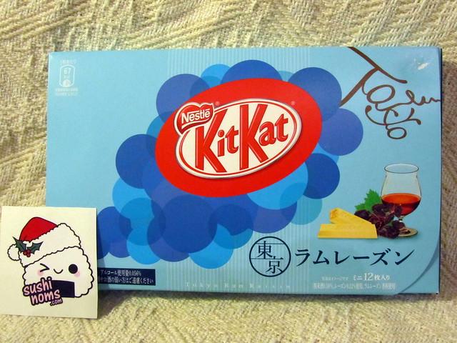 Rum Raisin (ラムレーズン) Kit Kats (Tokyo)