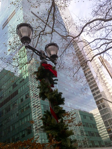 Bryant Park Decked out for the holidays