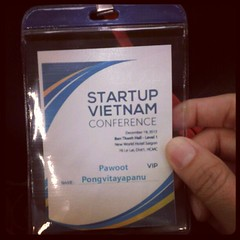 My badge In this conference #PomVN #StartupVN