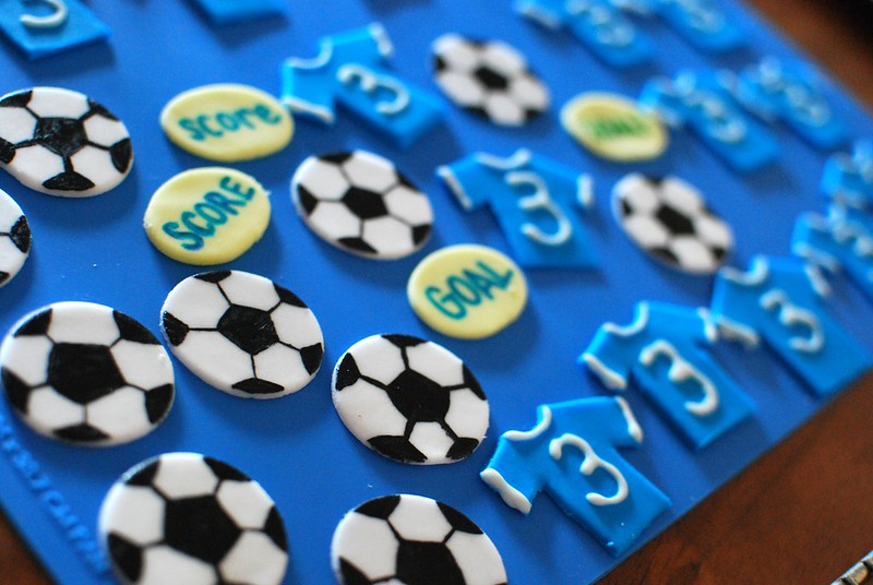Chocolate Soccer Cupcakes