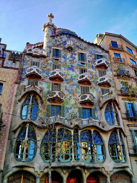 Casa Batll  Gaudi  Flickr  Photo Sharing