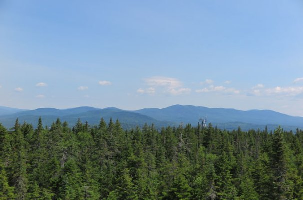 Bald Mountain Maine View Mountains