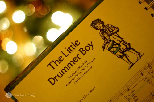 """15. """"Favorite Christmas Song"""" The Little Drummer Boy by courtneyec90"""