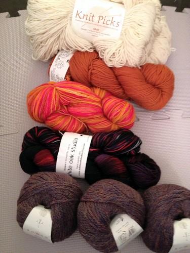 Yarn swap!