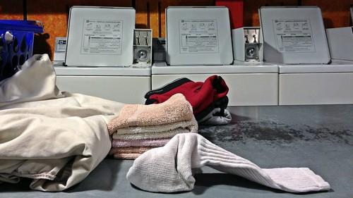 La lessive du samedi soir
