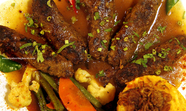 Turkish Grilled Kofta in Amirah's Grill Arab Street