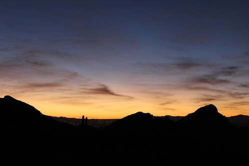Tucson Sunrise 2 by Christopher OKeefe