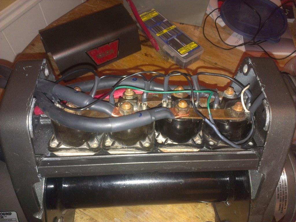 warn xd9000i solenoid wiring diagram towbar electrics 27 images