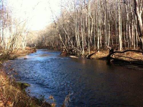Bend Riffle on the Gunpowder River