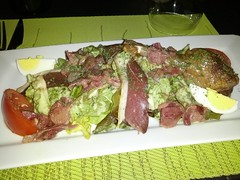 Salad with duck, Le Cyrilou, Montpellier, France
