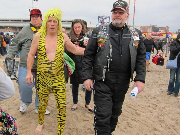 Coney Island Polar Bear Club New Year's Day Swim 2013