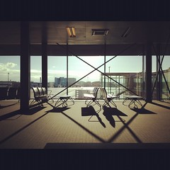Basel Airport Waiting Lounge