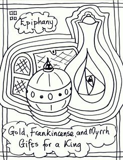 Epiphany Art for Church Bulletins by Stushie Stushie Art