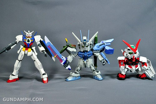 SDGO SD Launcher & Sword Strike Gundam Toy Figure Unboxing Review (49)