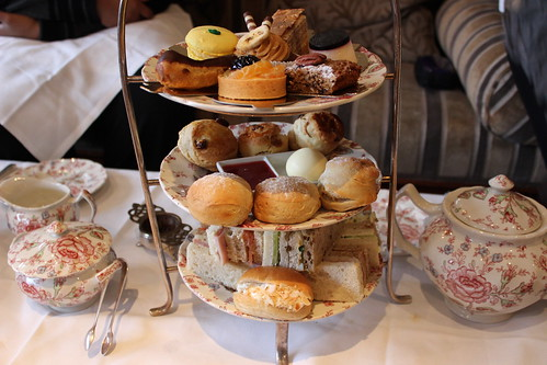 Afternoon tea at The Rubens