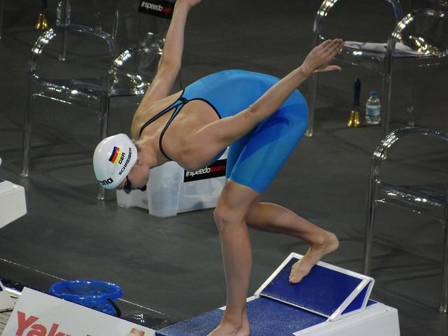 Daniela Schreiber's starting position