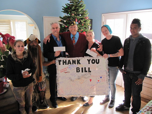 Rosendahl, Supporters Donate Thousands to Charity