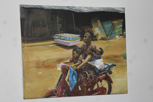 Igbo Mother And Babies by Artist Sincerlor. by Jujufilms