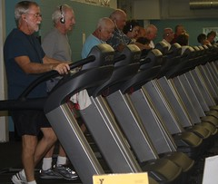 YMCA treadmill