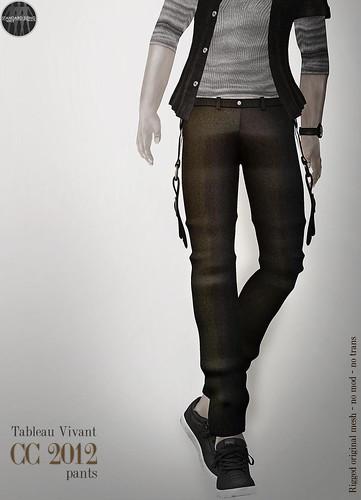 ~Tableau Vivant~ CC 2012 pants